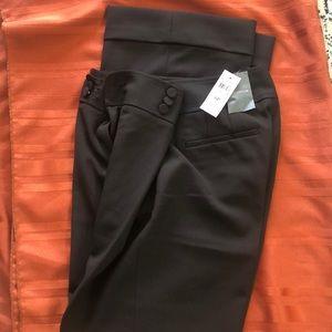 NWT! Ann Taylor Petite Margo brown slacks